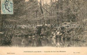 AK / Ansichtskarte Fontenay sous Bois Cascade du Lac des Minimes Fontenay sous Bois