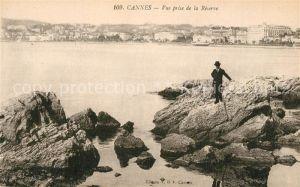 AK / Ansichtskarte Cannes_Alpes Maritimes Vue prise de la Reserve Cote d Azur Cannes Alpes Maritimes