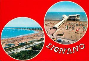 AK / Ansichtskarte Lignano La spiaggia La nuova Terrazza a mare Lignano