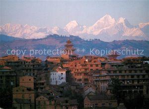 AK / Ansichtskarte Bhaktapur View of Bhaktapur city Courtesy Doon Photo Bhaktapur