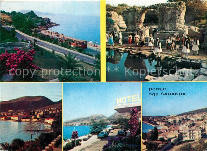 AK / Ansichtskarte Saranda Pamje nga gyteti Views from the town  Saranda