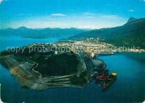 AK / Ansichtskarte Narvik Fliegeraufnahme Narvik