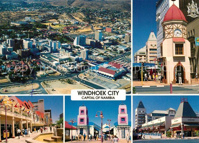 AK / Ansichtskarte Windhoek Capital of Namibia Details Windhoek