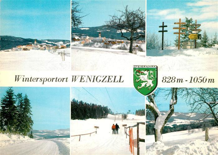 AK / Ansichtskarte Wenigzell Winterlandschaften Wenigzell