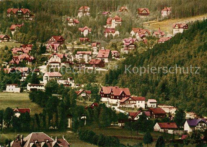 AK / Ansichtskarte Krummhuebel_Riesengebirge Panorama Krummhuebel Riesengebirge