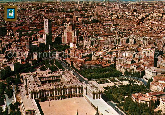 AK / Ansichtskarte Madrid_Spain Vista aerea Madrid Spain