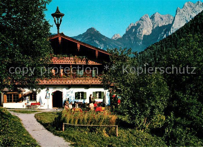 AK / Ansichtskarte Kufstein_Tirol Motiv aus dem Kaisertal Pfandlhof Kaisergebirge Kufstein_Tirol