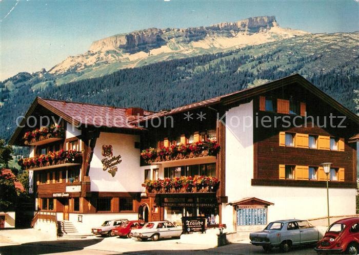 AK / Ansichtskarte Riezlern_Kleinwalsertal_Vorarlberg Hotel Gasthof Traube Alpen Riezlern_Kleinwalsertal