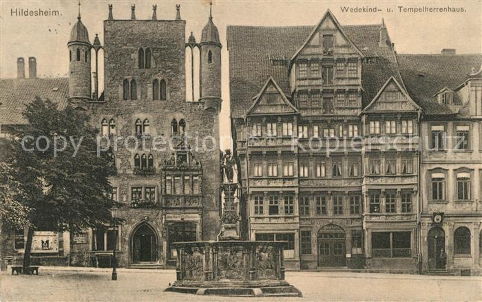 AK / Ansichtskarte Hildesheim Tempelherrenhaus Hildesheim