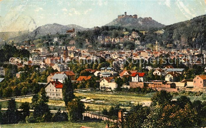 AK / Ansichtskarte Eisenach_Thueringen Panorama Wartburg Eisenach Thueringen
