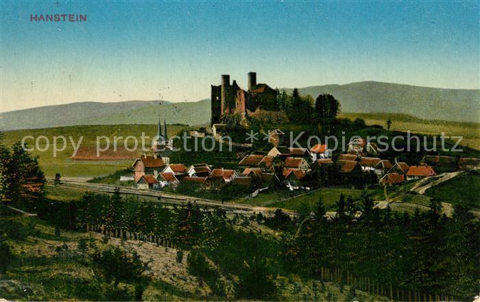 AK / Ansichtskarte Hanstein Burg Hanstein