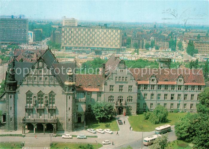 AK / Ansichtskarte Poznan_Posen Uniwersytet im Adama Miekiewieza Collegium Minus Poznan Posen