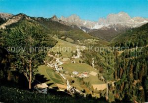 AK / Ansichtskarte Tiers_Dolomiten St Cyprian mit Rosengarten Tiers Dolomiten
