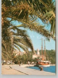 AK / Ansichtskarte Cavtat_Dalmatien Uferstrasse Cavtat Dalmatien