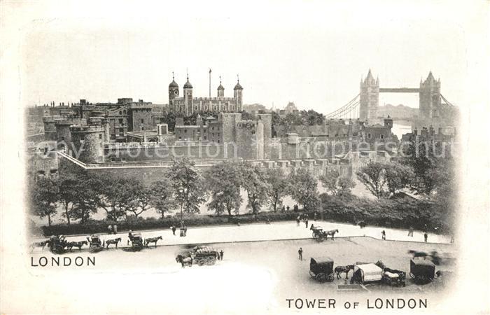 AK / Ansichtskarte London Tower of London London