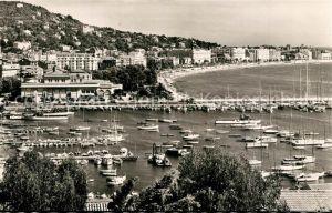 AK / Ansichtskarte Cannes_Alpes Maritimes Le Port le Casino et la Croisette vus du Suquet Cote d Azur Cannes Alpes Maritimes