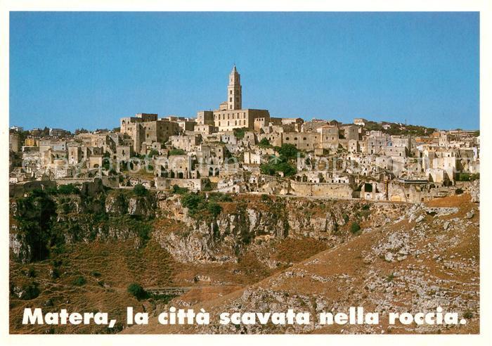 AK / Ansichtskarte Matera La citta scavata nella roccia Matera
