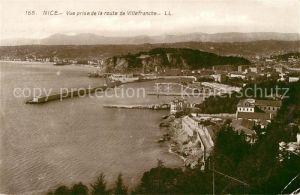 AK / Ansichtskarte Nice_Alpes_Maritimes Vue prise de la route de Villefranche Nice_Alpes_Maritimes