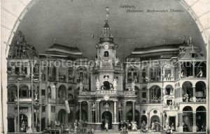 AK / Ansichtskarte Salzburg_Oesterreich Hellbrunn Mechanisches Theater Salzburg_Oesterreich