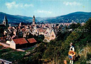 AK / Ansichtskarte Munster_Haut_Rhin_Elsass Vue generale vers le Hohneck dans les Vosges Munster_Haut_Rhin_Elsass