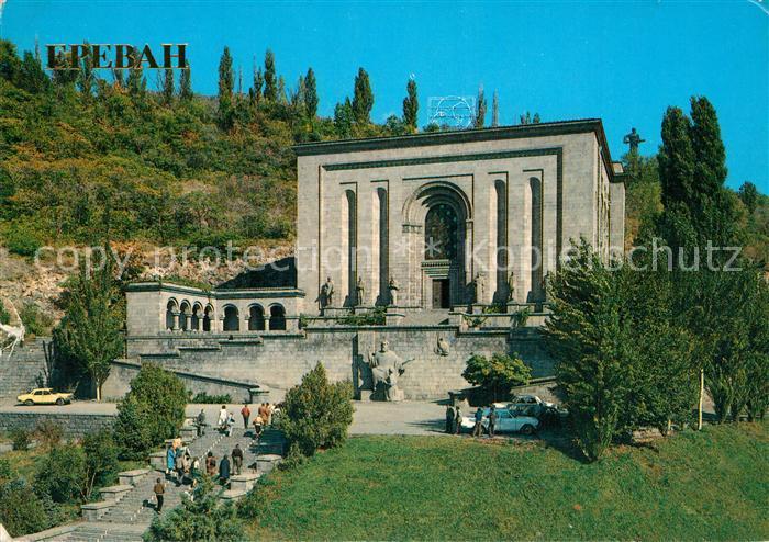 AK / Ansichtskarte Yerevan Matenadaran Mesrop Mashtots Yerevan