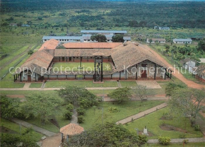 AK / Ansichtskarte Concepcion_Santa_Cruz Iglesia Catedral y Convento Kathedrale Kloster Fliegeraufnahme
