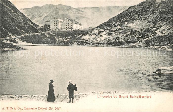 AK / Ansichtskarte Grand_Saint_Bernard Hospice Grand_Saint_Bernard