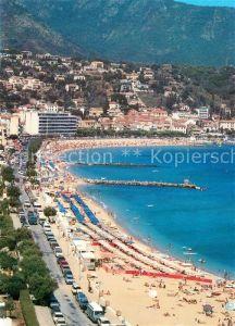 AK / Ansichtskarte Le_Lavandou Vue generale de la promenade et de la plage Le_Lavandou