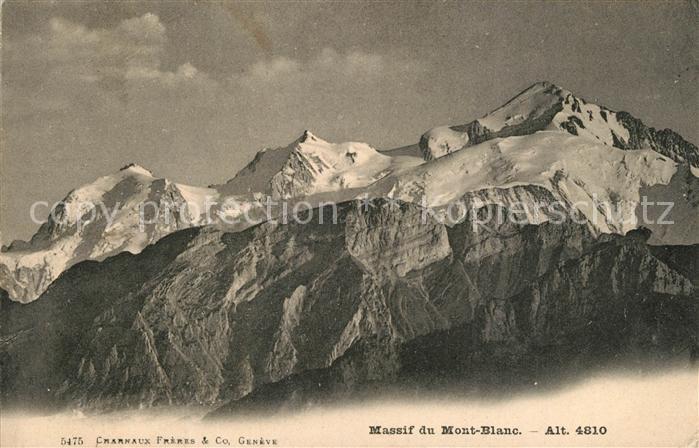 AK / Ansichtskarte Mont_Blanc_de_Cheilon Massif Mont_Blanc_de_Cheilon