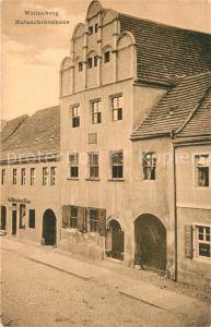 AK / Ansichtskarte Wittenberg_Lutherstadt Melanchthonhaus Wittenberg Wittenberg_Lutherstadt