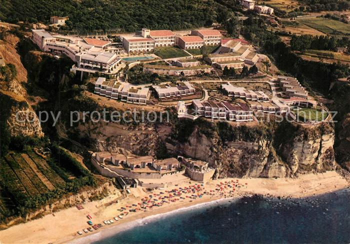 AK / Ansichtskarte Tropea Hotel Rocca Nettuno veduta aerea Tropea