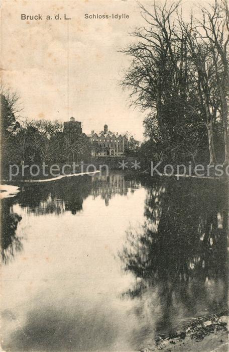 AK / Ansichtskarte Bruck_Leitha Schloss Idylle Bruck_Leitha