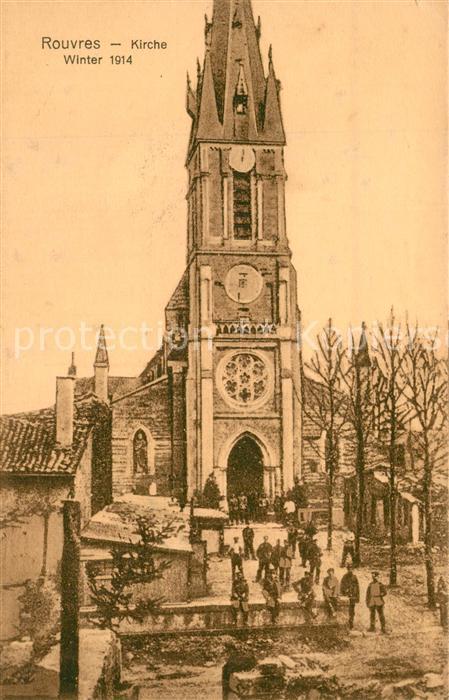 AK / Ansichtskarte Rouvres_d_Eure et Loir Kirche Rouvres_d_Eure et Loir