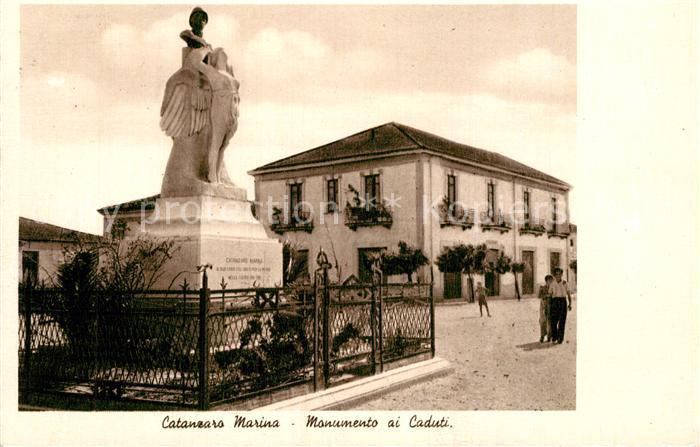 AK / Ansichtskarte Catanzaro Marina Monumento ai Caduti Catanzaro