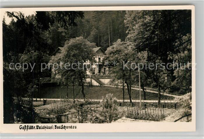 AK / Ansichtskarte Bad_Schandau Gaststaette Waldhaeusl Bad_Schandau