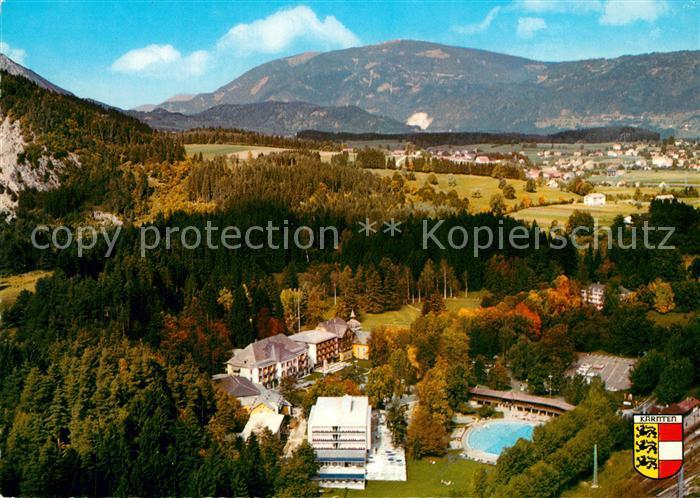 AK / Ansichtskarte Warmbad_Villach Fliegeraufnahme Warmbad_Villach