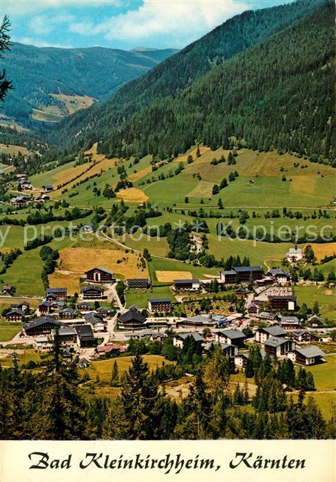 AK / Ansichtskarte Bad_Kleinkirchheim_Kaernten Panorama Kurort Bad_Kleinkirchheim