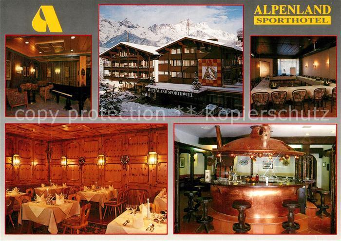 AK / Ansichtskarte Maria_Alm_Steinernen_Meer Alpenland Sporthotel Restaurant Bar Maria_Alm_Steinernen_Meer