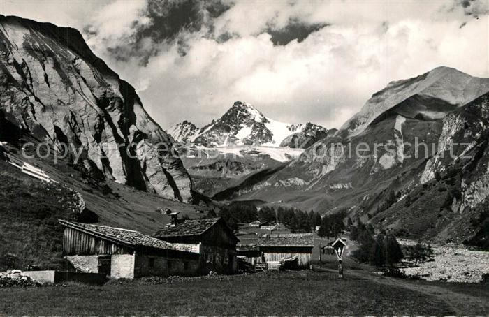 AK / Ansichtskarte Grossglockner Koednitzkees vom Koednitz Tal Grossglockner