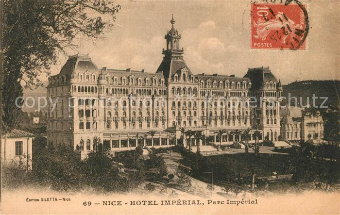 AK / Ansichtskarte Nice_Alpes_Maritimes Hotel Imperial Parc Imperial Nice_Alpes_Maritimes