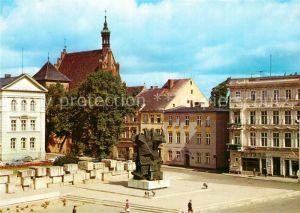 Bydgoszcz_Pommern Starego Rynku Pomnikiem Walki i Meczenstwa Ziemi Bydgoskiej Marktplatz Denkmal Bydgoszcz Pommern