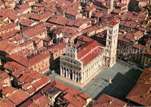 Lucca San Michele veduta aerea Lucca