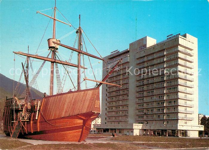 Gagra Hotel Abhasia Segelschiff Gagra