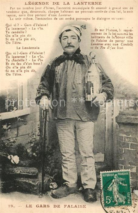 Falaise_Calvados Legende de la Lanterne Gars de Falaise  Falaise_Calvados