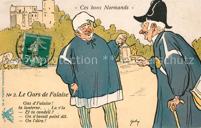 Falaise_Calvados Le Gars de Falaise Lanterne  Falaise_Calvados