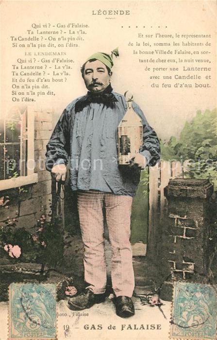 Falaise_Calvados Legende Lanterne Gars de Falaise  Falaise_Calvados