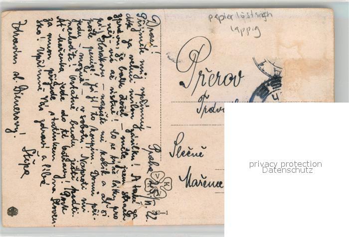 AK / Ansichtskarte K?nstlerkarte Alois Kalvoda Lavecka Petit Banc   1