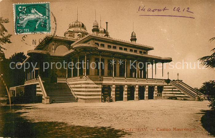 AK / Ansichtskarte Arcachon_Gironde Casino Mauresque Arcachon Gironde 0
