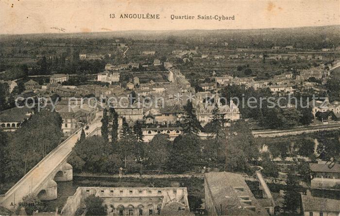 AK / Ansichtskarte Angouleme Panorama Quartier Saint Cybard Angouleme 0