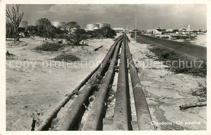 AK / Ansichtskarte Maracaibo Oleoducto Oil Pipeline Maracaibo 0